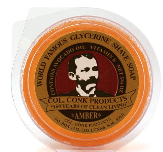 Col Conk Soap Col. Conk Glycerin Shave Soap