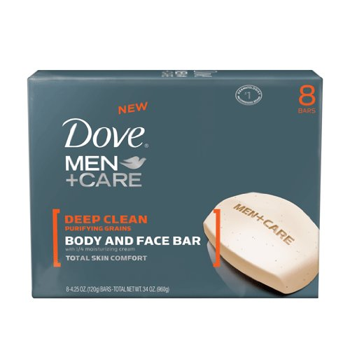Dove Men Care Deep Clean Bar Soap