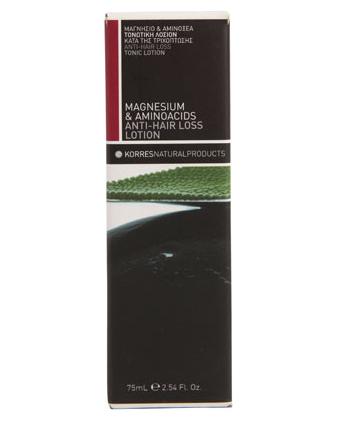 Hair Loss Product Korres Magnesium Anti Hair Loss Lotion