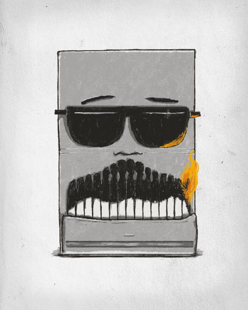 Mustache contest Threadless Movember T shirt Design Challenge