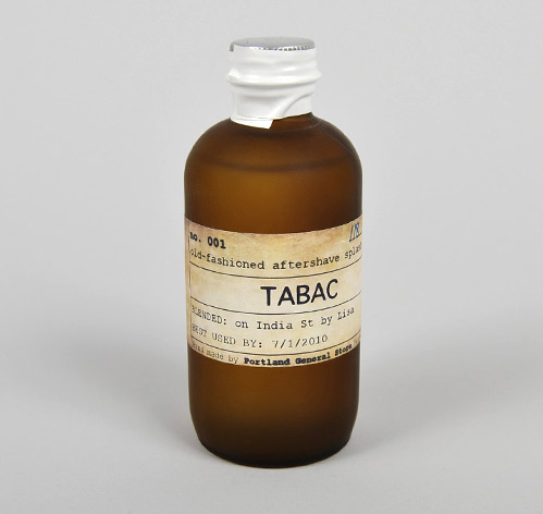 Portland Tobac Aftershave 1 Portland General Store 'Tabac' Aftershave