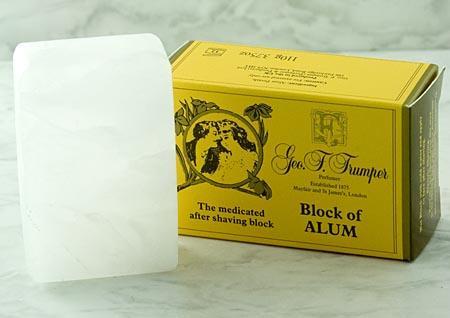 trumper block alum Geo F. Trumper Block of Alum