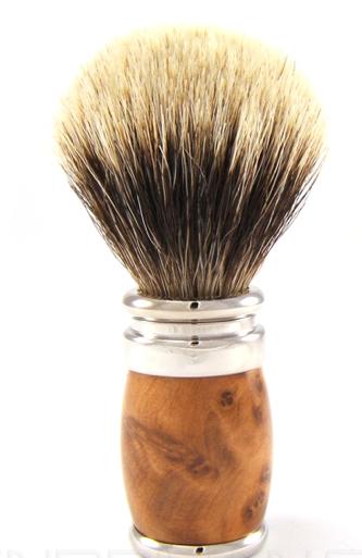 Joris European White Hair Badger Shaving Brush Joris European White Hair Badger Shaving Brush