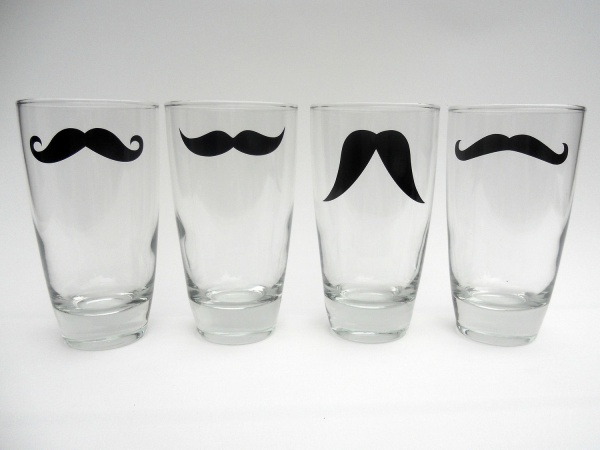 Moustache Glasses Moustache Glasses from Modern Madness