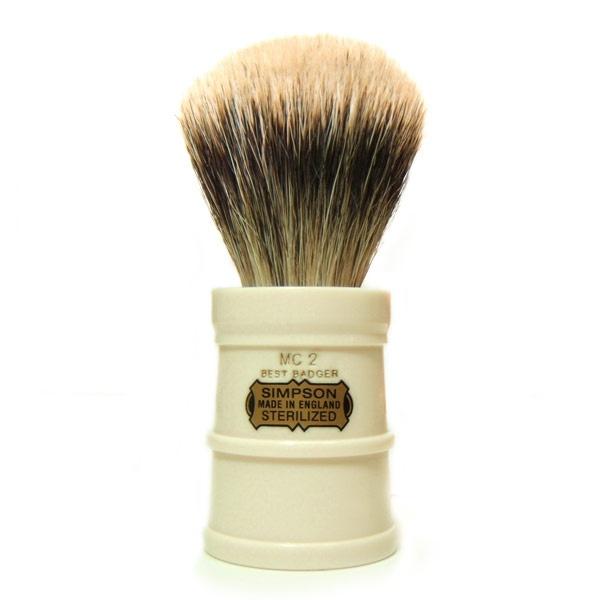 Simp MC finercut Simpson Milk Churn 2 Best Badger Shaving Brush