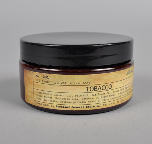 WetShaveSoap Tabac L1 Portland General Store Tobacco Wet Shave Soap