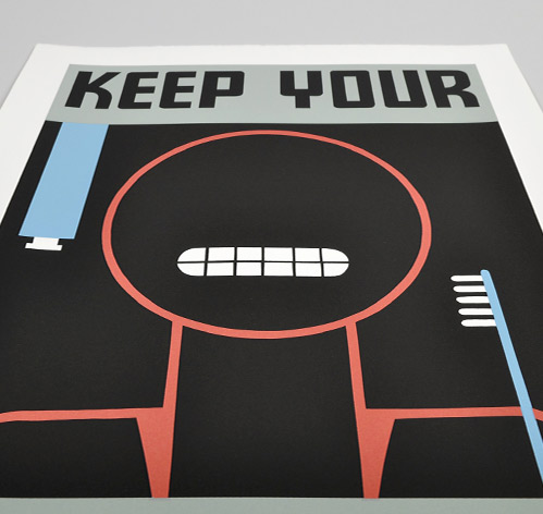 KeepTeethClean Poster 1 Posters of the WPA 'Keep Your Teeth Clean'