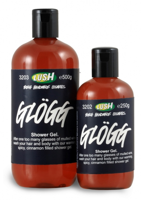 Lush Glogg LUSH Glogg Spicy Winter Lather Shower Gel