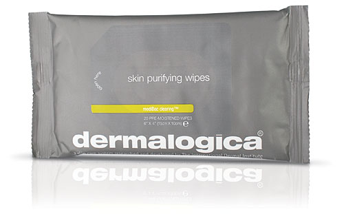 dermalogica skin purify wipes Dermalogica mediBac Skin Purifying Wipes
