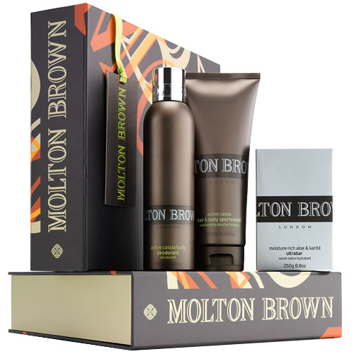 Molton Brown Three Musketeers Active Cassia Molton Brown The Three Musketeers Active Cassia