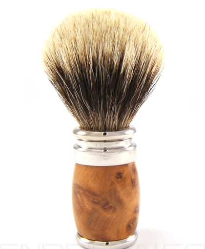 Picture 31 Joris European White Badger Shave Brush