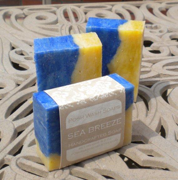 seabreeze finercut Sea Breeze Cold Processed Soap