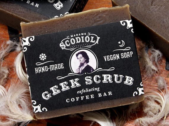 Geek Scrub Soap Scodoli Geek Scrub Coffee Exfoliating Bar