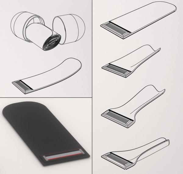 folding razor4 Folding Razor Concept