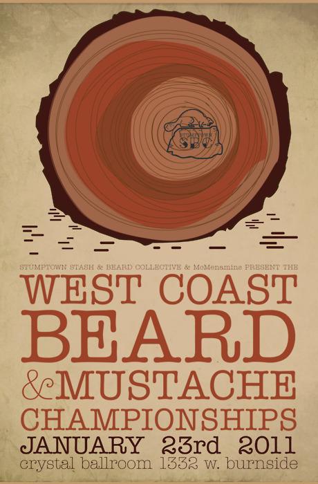 westcoast beard and moustache champs
