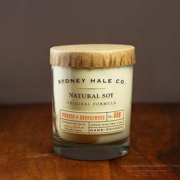 sydneyhale tobacco3 Sydney Hale Tobacco & Sandalwood Candle