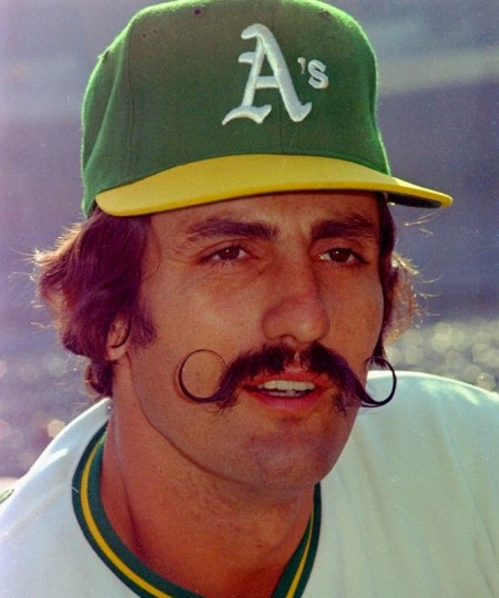 Rollie Fingers FinerCut Stache Salute!