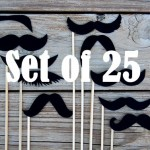 mustache on a stick 05 150x150 Black Mustaches on a Stick by Lo's Shop