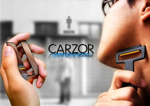 carzor Carzor The Razor that fits in your Wallet