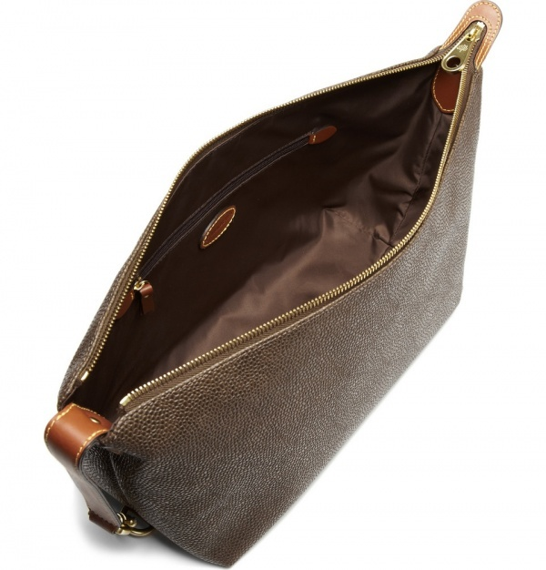 302787 mrp e1 xl Mulberry Large Leather Wash Bag
