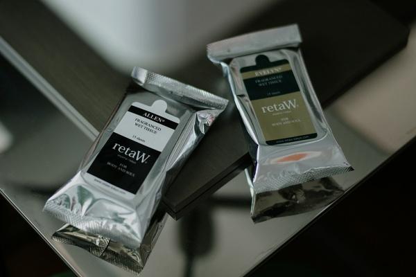 retaw 2012 fragrance wet tissue allen evlyn 01 retaW 2012 Fragrance Tissue Allen & Evelyn