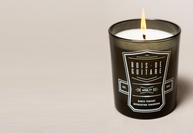 april77 bois de guitare candle 02 630x435 April 77 Boise De Guitare Scented Candle