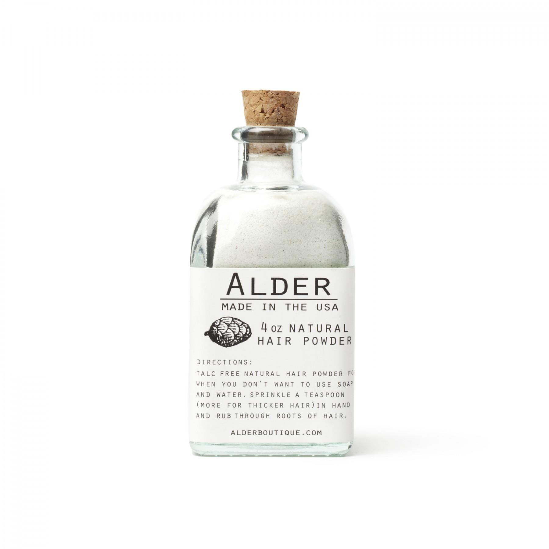 adlerdryshampoo Alder Dry Shampoo