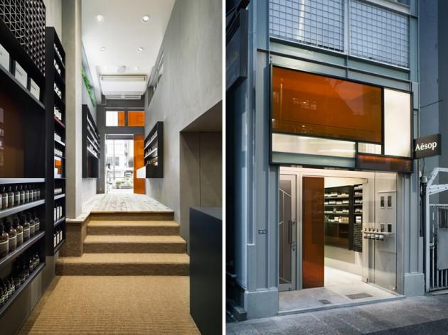 aesop shibuya 10 630x472 Aesop Shibuya Store Designed by Torafu Architects