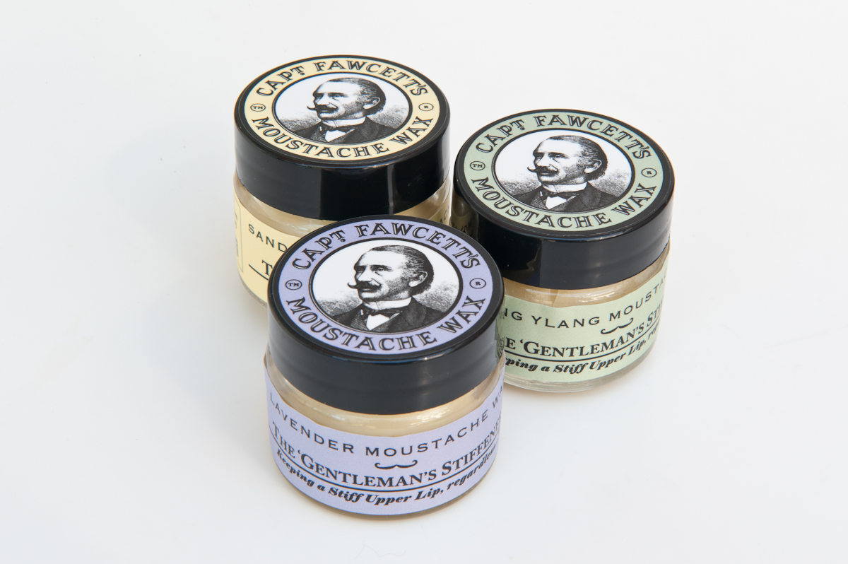 Captain Fawcetts Mustache Wax