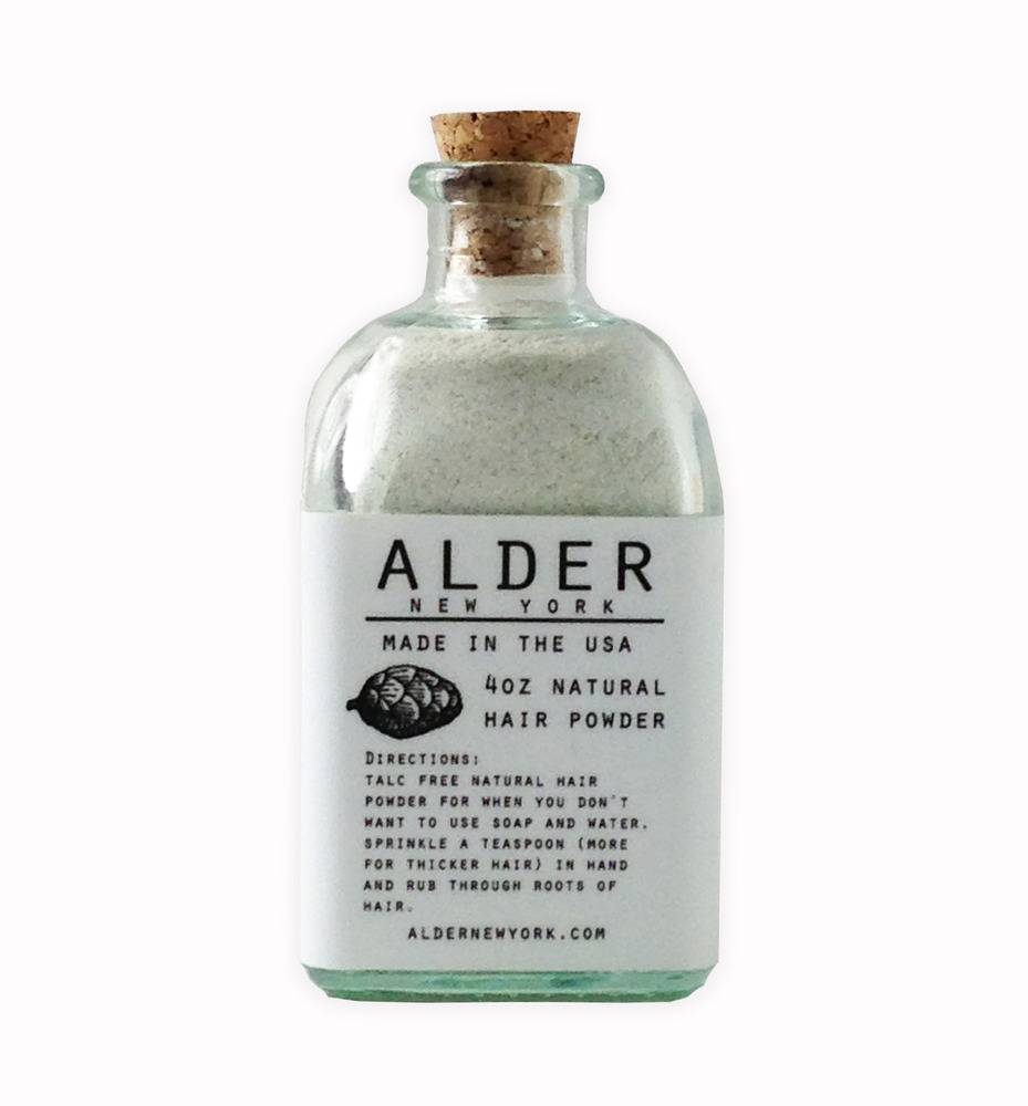New Alder Natural Hair powder Alder Dry Shampoo