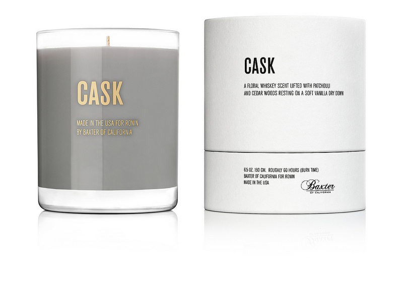 RONIN Cask  Baxter of California x Ronin Cask Candle
