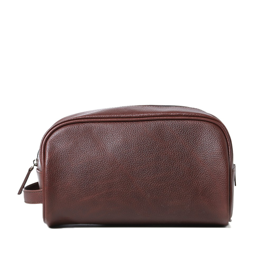 17 06 2013 barbour leatherwashbag brown2 Barbour Leather Wash Bag
