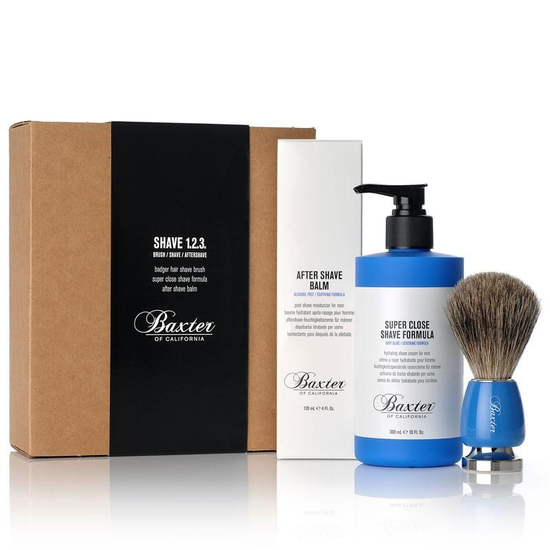 Baxter of California 1-2-3 Shave Kit