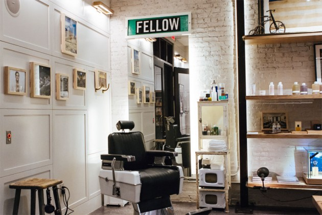 Fellow Barber Shinola 01 630x420 Fellow Barber Opens Pop Up at Shinola New York