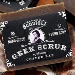 Geek Scrub Soap 150x150 Scodoli Geek Scrub Coffee Exfoliating Bar